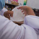 液状化現象の実験